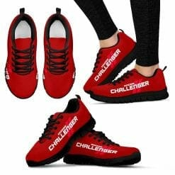 Dodge Challenger Running Shoes Red