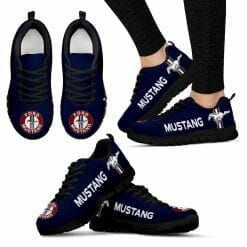 Ford Mustang Running Shoes Dark Blue