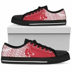 MLB Boston Red Sox Low Top Shoes