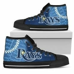 MLB Tampa Bay Rays High Top Shoes