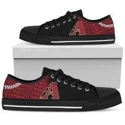MLB Arizona Diamondbacks Low Top Shoes