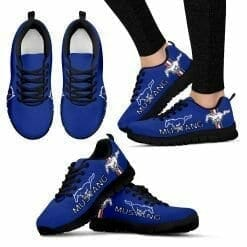 Ford Mustang Running Shoes Deep Impact Blue