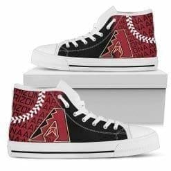 MLB Arizona Diamondbacks High Top Shoes
