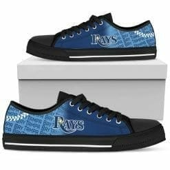 MLB Tampa Bay Rays Low Top Shoes