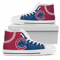 MLB Chicago Cubs High Top Shoes