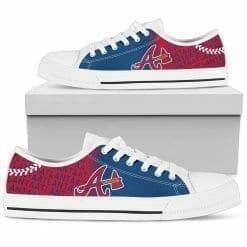 MLB Atlanta Braves Low Top Shoes