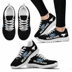 Ford Mustang Running Shoes Black