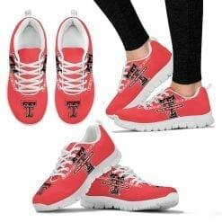 NCAA Texas Tech Red Raiders Running Shoes