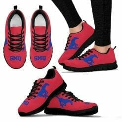 NCAA SMU Mustangs Running Shoes