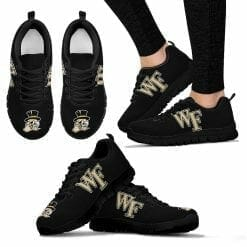 NCAA Wake Forest Demon Deacons Running Shoes