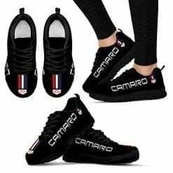 Chevrolet Camaro Running Shoes Black