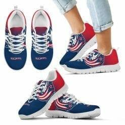 NHL Columbus Blue Jackets Running Shoes