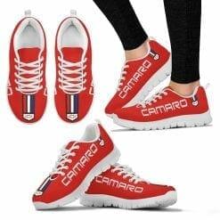 Chevrolet Camaro Running Shoes Red Hot