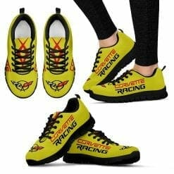 Chevrolet Corvette Running Shoes Accelerate Yellow