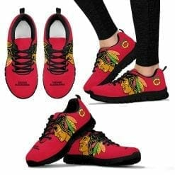 NHL Chicago Blackhawks Running Shoes