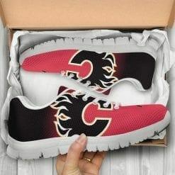 NHL Calgary Flames Running Shoes