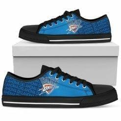 NBA Oklahoma City Thunder Low Top Shoes