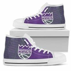 NBA Sacramento Kings High Top Shoes
