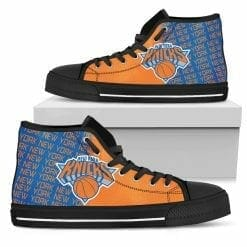 NBA New York Knicks High Top Shoes