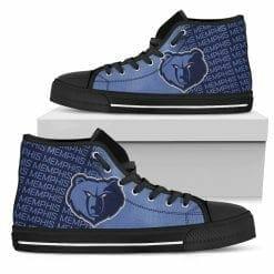NBA Memphis Grizzlies High Top Shoes