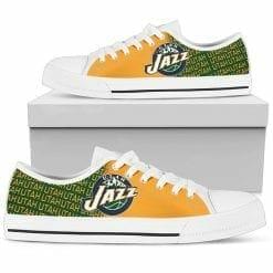 NBA Utah Jazz Low Top Shoes