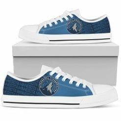 NBA Minnesota Timberwolves Low Top Shoes