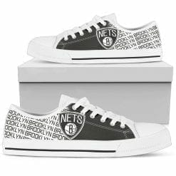 NBA Brooklyn Nets Low Top Shoes