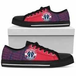 NBA Washington Wizards Low Top Shoes