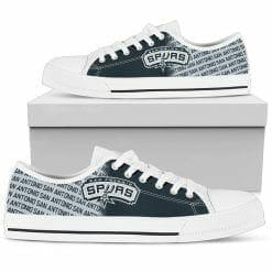 NBA San Antonio Spurs Low Top Shoes