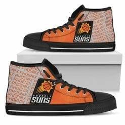NBA Phoenix Suns High Top Shoes
