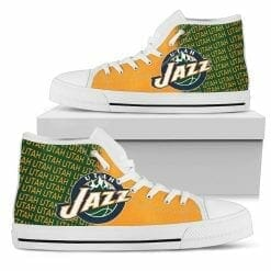NBA Utah Jazz High Top Shoes