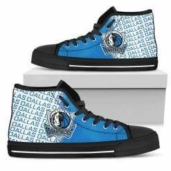 NBA Dallas Mavericks High Top Shoes