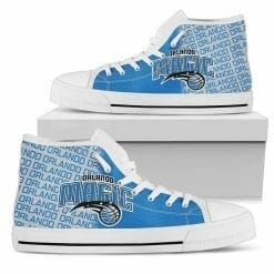 NBA Orlando Magic High Top Shoes