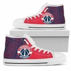 NBA Washington Wizards High Top Shoes