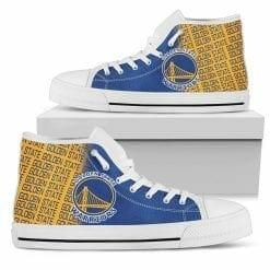 NBA Golden State Warriors High Top Shoes