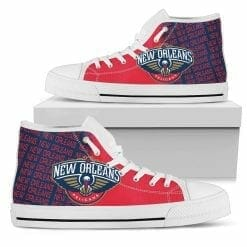 NBA New Orleans Pelicans High Top Shoes