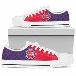 NBA Detroit Pistons Low Top Shoes