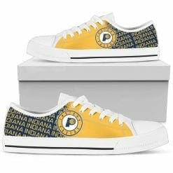 NBA Indiana Pacers Low Top Shoes
