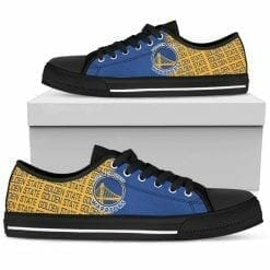 NBA Golden State Warriors Low Top Shoes