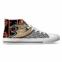 NHL Anaheim Ducks High Top Shoes