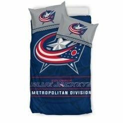 NHL Columbus Blue Jackets Bedding Set