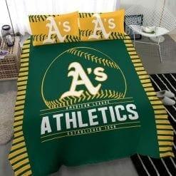MLB Oakland Athletics Bedding Set