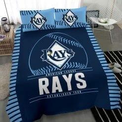 MLB Tampa Bay Rays Bedding Set