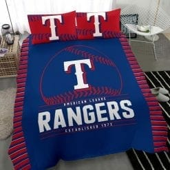 MLB Texas Rangers Bedding Set