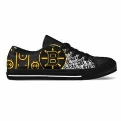 NHL Boston Bruins Low Top Shoes