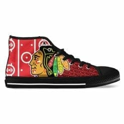 NHL Chicago Blackhawks High Top Shoes
