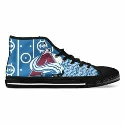 NHL Colorado Avalanche High Top Shoes
