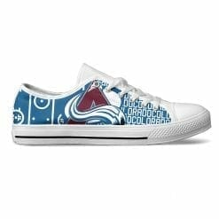 NHL Colorado Avalanche Low Top Shoes