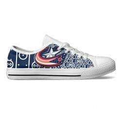 NHL Columbus Blue Jackets Low Top Shoes