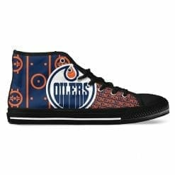 NHL Edmonton Oilers High Top Shoes